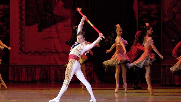 Балет Кармен Красноярского театра оперы и балета. Архивное фото