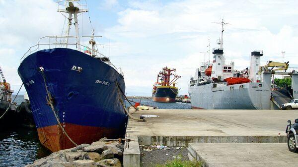 Порт в Малабо.