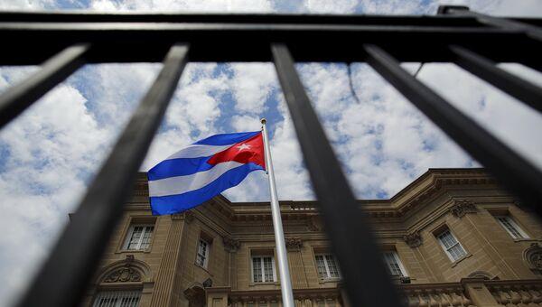 Здание посольства Кубы в Вашингтоне