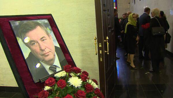 Прощание с Геннадием Селезневым: почетный караул, цветы и музыка Окуджавы