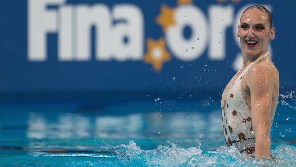 Чемпионат мира FINA 2015. Синхронное плавание. Соло. Техническая программа. Предварительный раунд