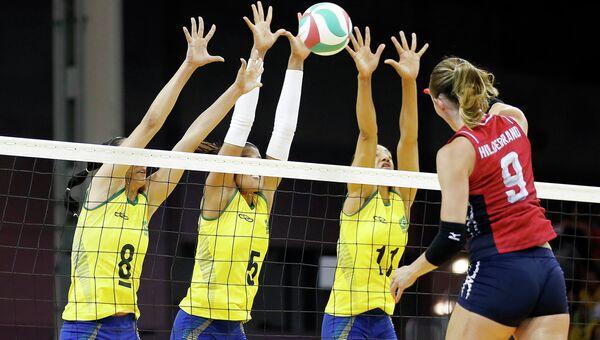Волейболистки сборной США обыграли Бразилию в Финале шести мирового Гран-при