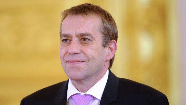 Чрезвычайный и полномочный посол Республики Словении в РФ Примож Шелиго. Архивное фото