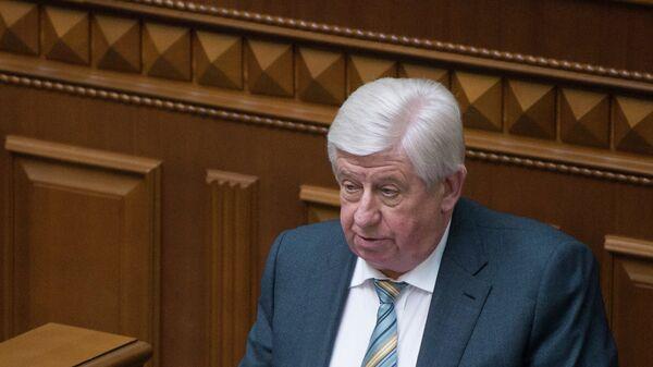 Виктор Шокин, назначенный на должность генерального прокурора Украины. 2015 год