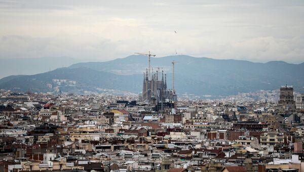 Вид на Барселону, столицу Каталонии. Архивное фото.