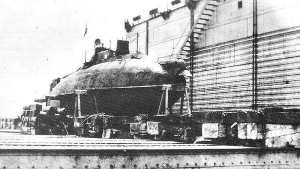 Подводная лодка Сом. Архивное фото.