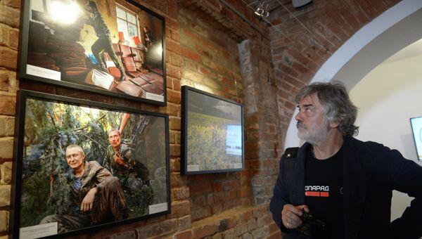 Открытие выставки фотокорреспондента МИА Россия сегодня Андрея Стенина