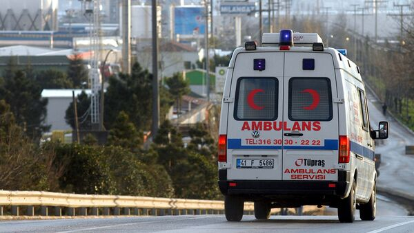 Скорая помощь в Турции. Архивное фото