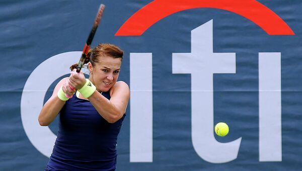 Российская теннисистка Анастасия Павлюченкова на турнире в Вашингтоне