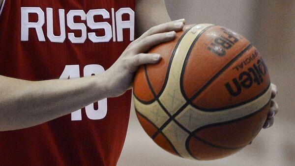 Баскетбол. Архивное фото