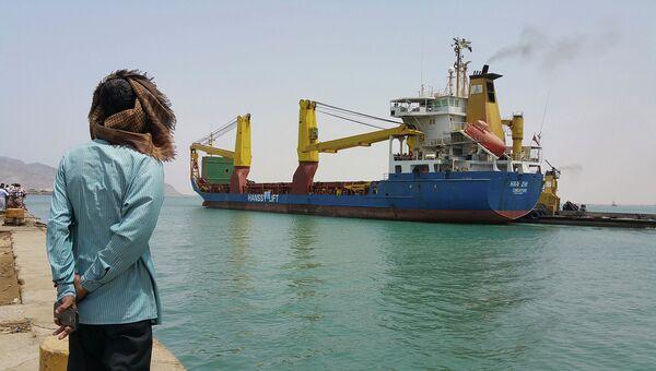 Порт в Йемене. Архивное фото