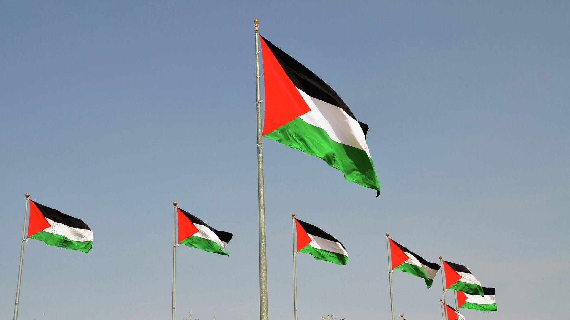 Флаги Палестины - РИА Новости, 1920, 15.05.2021