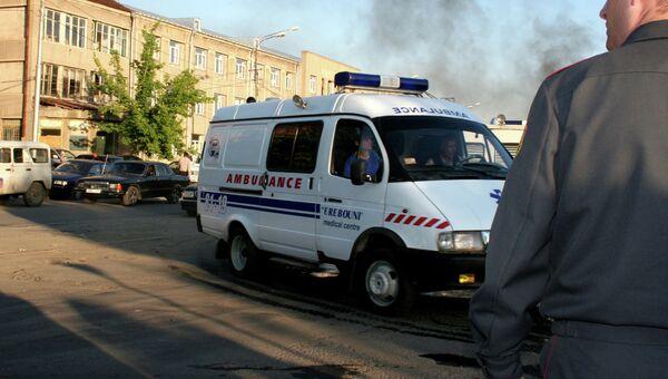 Машина скорой помощи в Армении. Архивное фото