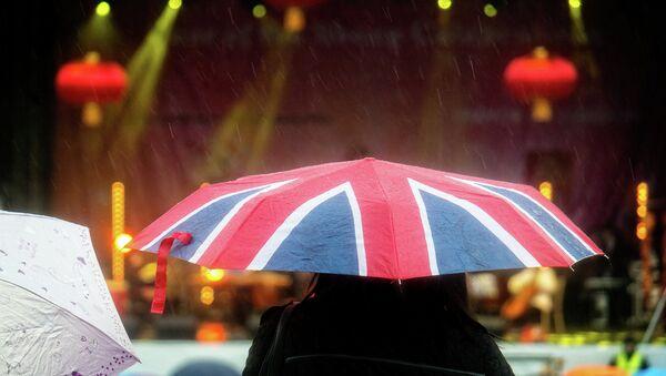 Непогода в Великобритании