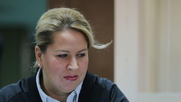 Бывшая глава департамента имущественных отношений министерства обороны России Евгения Васильева