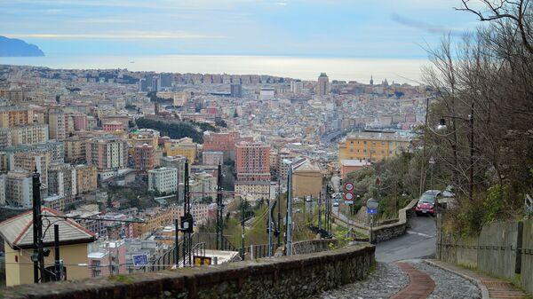 Итальянский город Генуя. Архивное фото