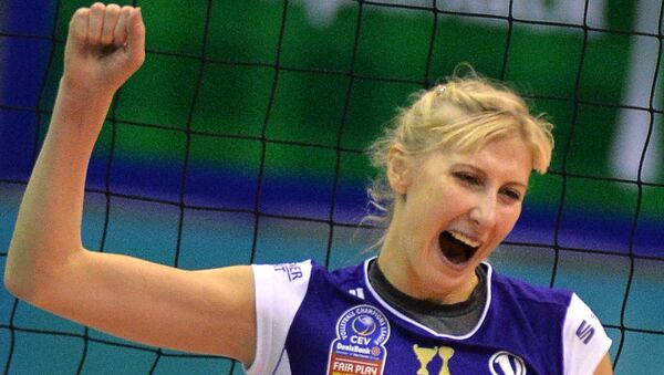Игрок ВК Волеро Наталья Маммадова. Архивное фото