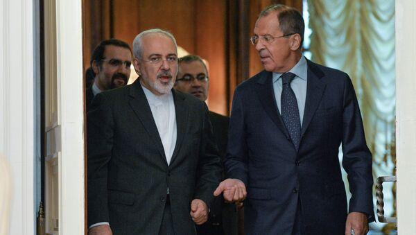 Министр иностранных дел РФ Сергей Лавров и министр иностранных дел Исламской Республики Иран Мухаммад Джавад Зариф. Архивное фото
