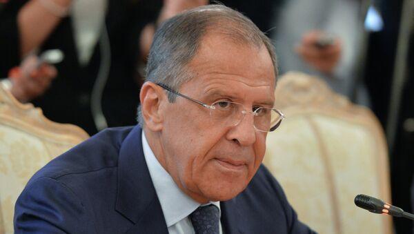 Глава МИД России С.Лавров. Архивное фото