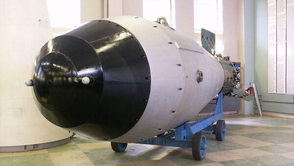 Копия самой мощной в истории термоядерной бомбы АН602