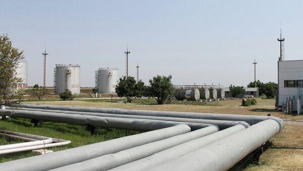 Работа предприятия Черноморнефтегаз в Крыму