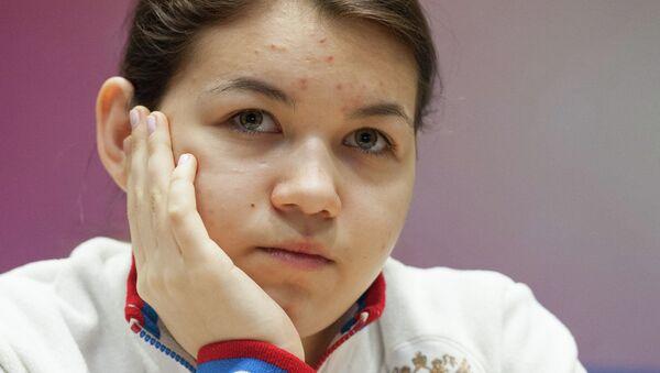Александра Горячкина. Архивное фото