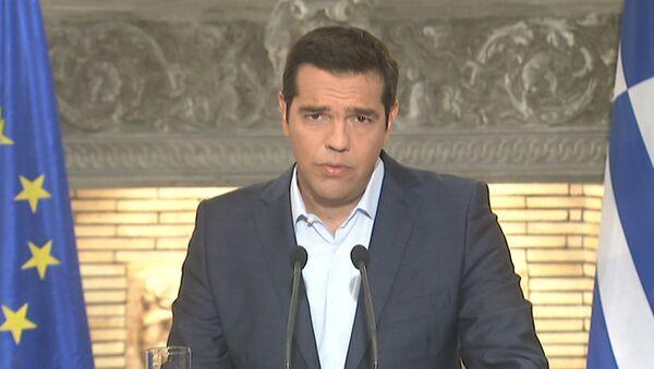Ципрас объяснил народу Греции причину своей отставки с поста премьер-министра
