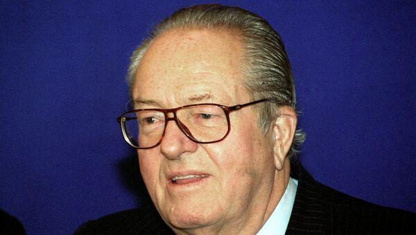Председатель партии Национальный фронт Франции Жан-Мари Ле Пен