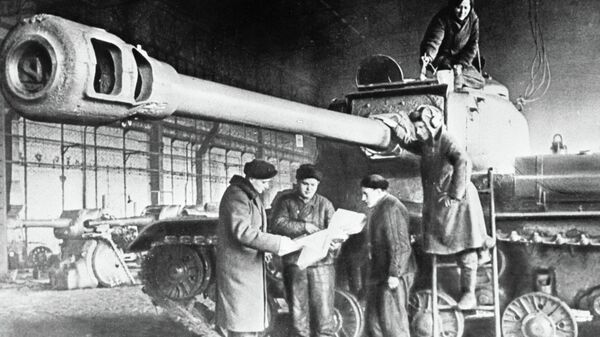 Бронированные монстры. Каких русских танков немцы
