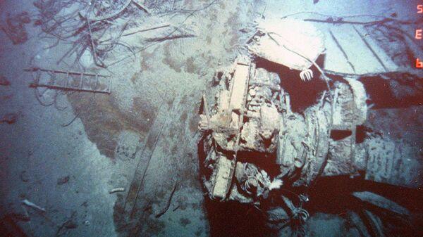 Обломки Титаника. 1985 год
