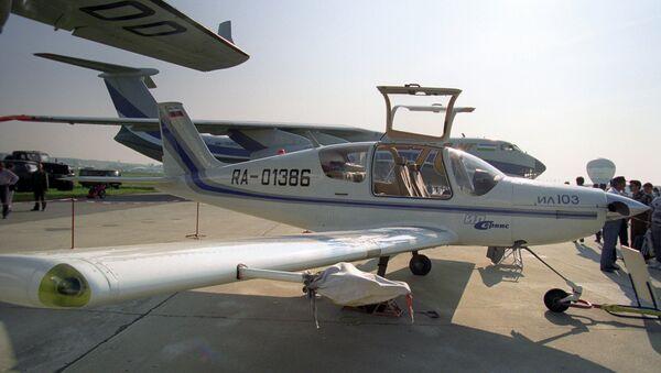 Легкий многоцелевой самолет Ил-103. Архивное фото