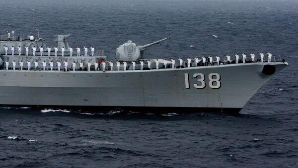 Эсминец Тайчжоу ВМС НОАК КНР. Архивное фото