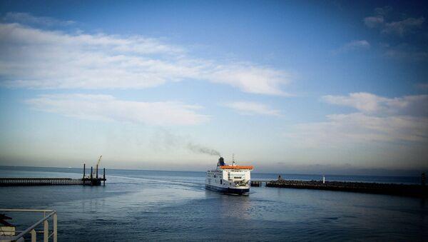 Порт Кале. Архивное фото