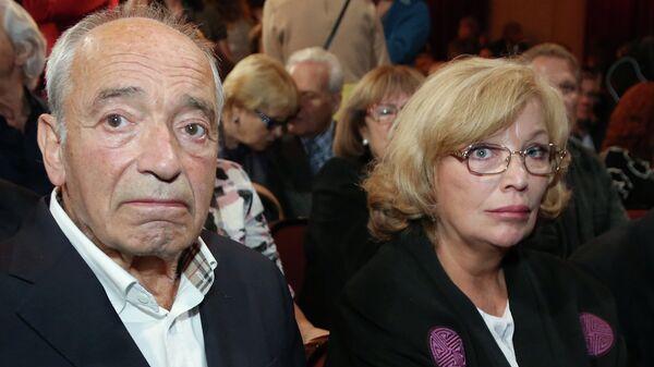 Актер Валентин Гафт с супругой актрисой Ольгой Остроумовой