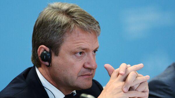 Министр сельского хозяйства Российской Федерации Александр Ткачёв. Архивное фото