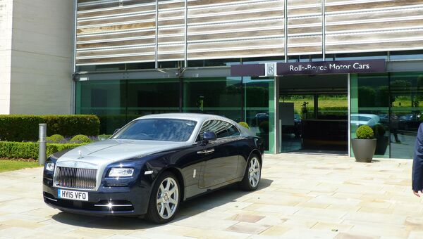 Производство автомобилей Rolls-Royce