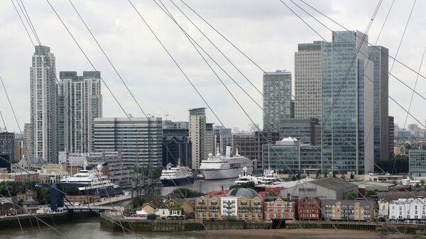 Виды Лондона. Архивное фото