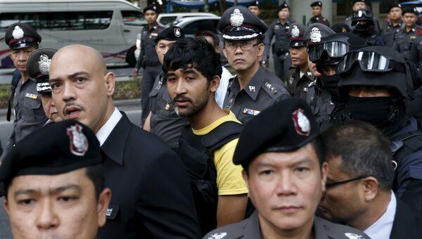 Мужчина, подозреваемый в причастности к теракту в Бангкоке