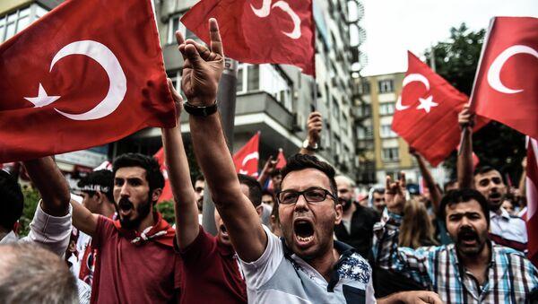 Митинг против Курдской рабочей партии (КРП) в Стамбуле. Архивное фото