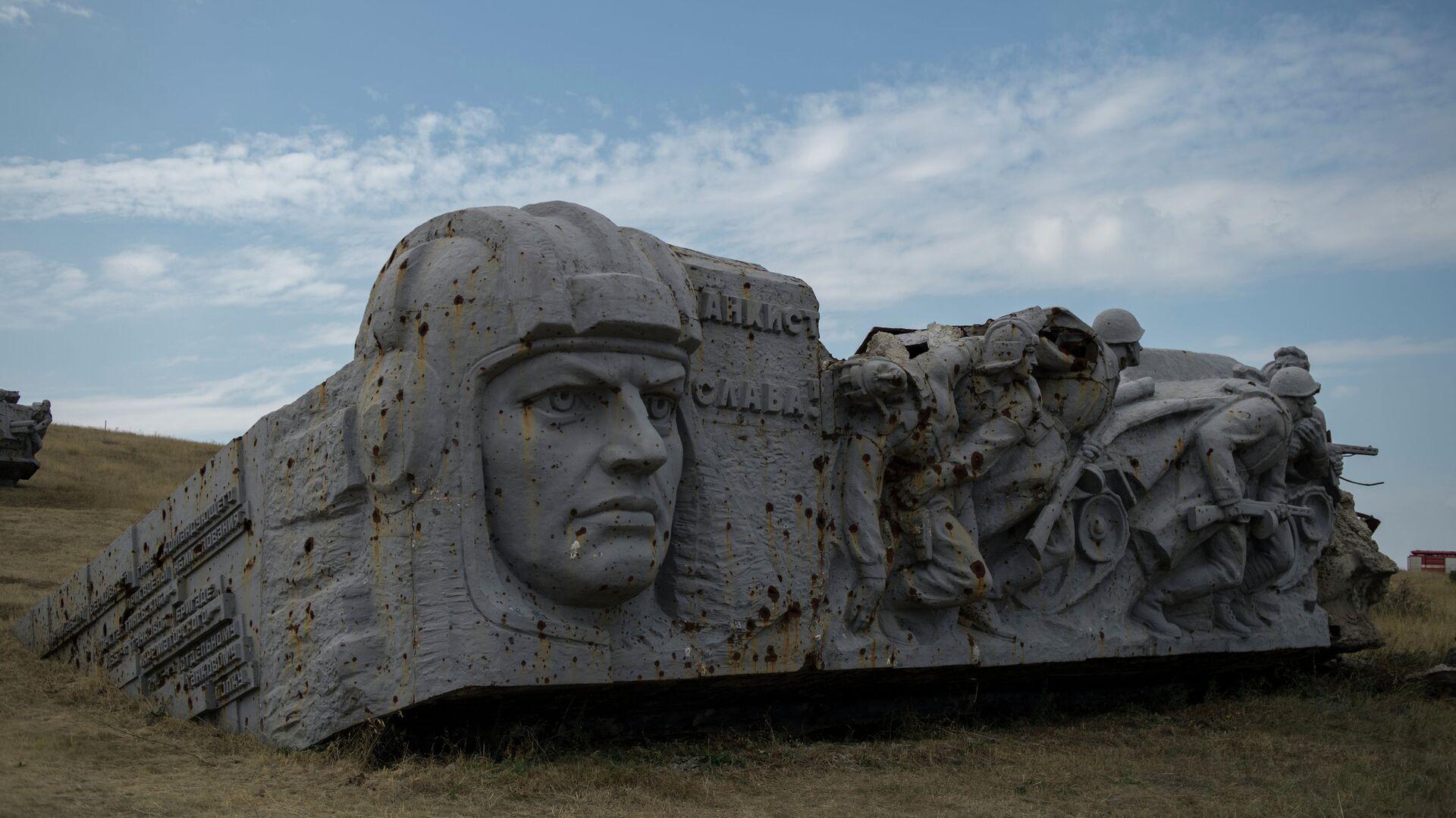 Мероприятия на Саур-Могиле в ознаменование 72-й годовщины освобождения Донбасса от немецко-фашистских захватчиков - РИА Новости, 1920, 08.05.2021