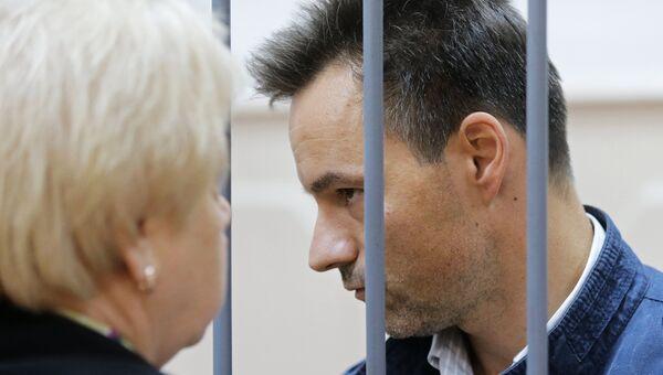 Председатель Государственного Совета Республики Коми Игорь Ковзель в Басманном суде Москвы. Архивное фото