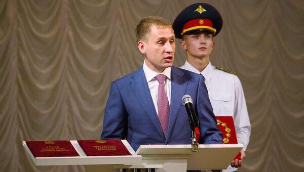 Инаугурация избранного губернатора Амурской области А.Козлова прошла в Благовещенске