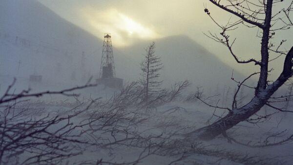 Тундра в окрестностях Норильска
