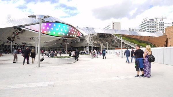 Новый вокзал Бирмингема