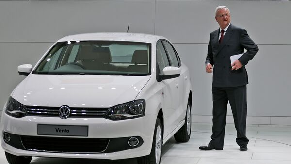 Руководитель Volkswagen Мартин Винтеркорн. Архивное фото