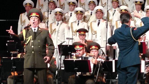 Академический ансамбль песни и пляски Российской армии имени А. В. Александрова. Архивное фото