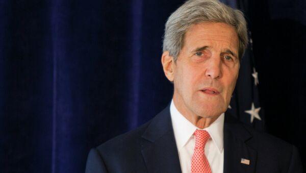 Госсекретарь США Джон Керри . Архивное фото