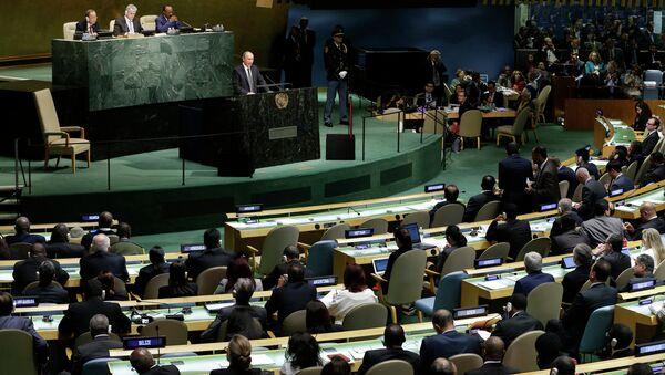Владимир Путин на Генассамблее ООН