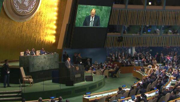 Путин на Генассамблее ООН призвал объединить усилия для борьбы с ИГ