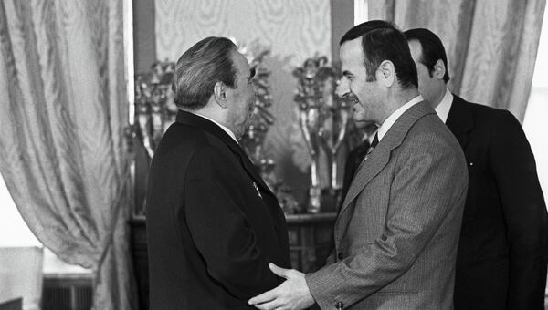 Визит в СССР Президента Сирии Хафеза Асада